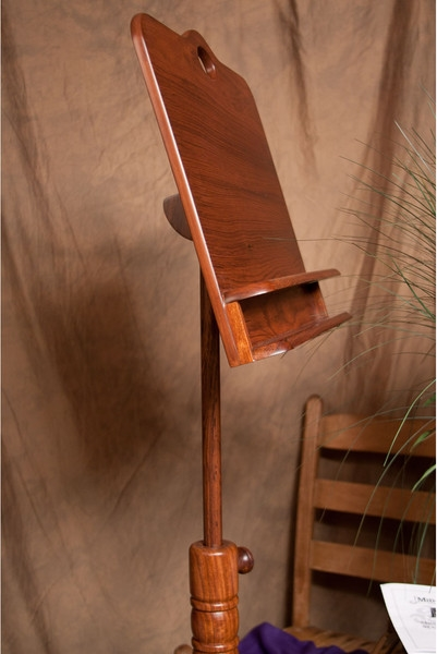 Roosebeck Colonial Wooden Music Stand Double Shelf